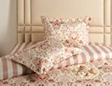 Baby Pink Floral , Queen : Jennifer Taylor Home, 3-Piece Duvet Set, Queen, Baby Pink Floral
