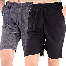 hombre PACK 2 Jersey Liso Pantalones cortos para hombre MULTIPACK Pijama Pantalones cortos Pantalones Pijama M L Xl Xxl Xxxl XXXXL