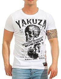 Yakuza Hombres Ropa Superior/Camiseta Love Hate