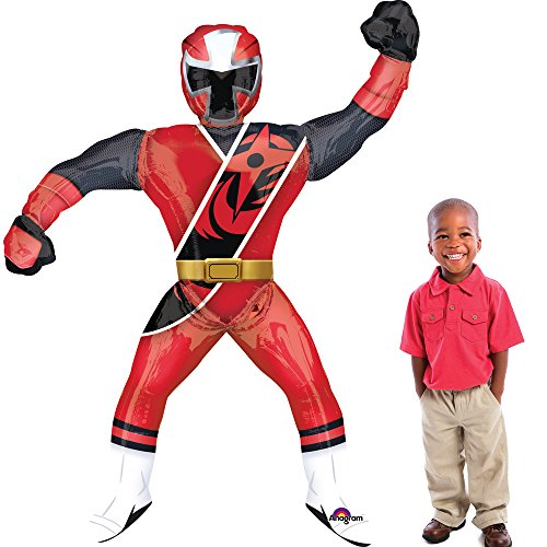 (Amscan International 3440201 Power Rangers Ninja Stahl Folienballon)