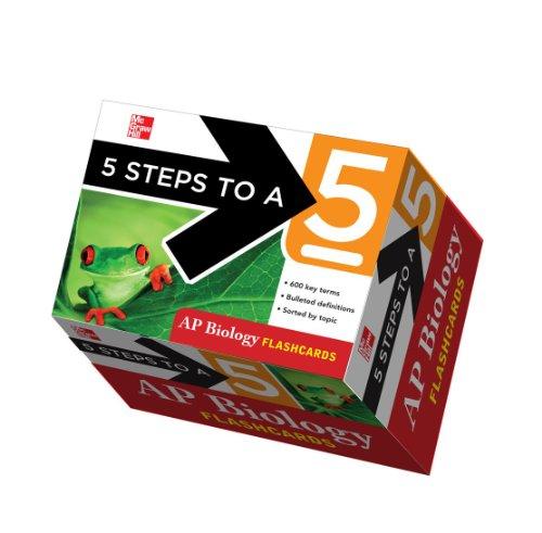 5 Steps to a 5 AP Biology Flashcards (Ap Biology Test Prep)