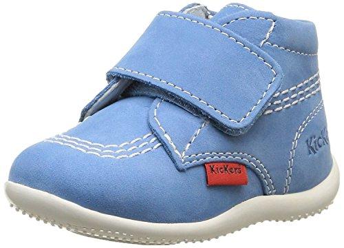 Kickers Bilou, Chaussures Bébé marche mixte bébé Bleu