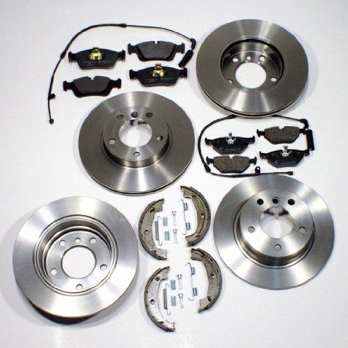 Preisvergleich Produktbild Bremsscheiben Bremsen + Bremsbeläge + Handbremsbacken + Zubehör + Warnkontakte für vorne + hinten