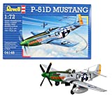 Disney Aviones Revell-P-51D Mustang, Kit de Modelo, Escala 1:72 (04148), (4148)