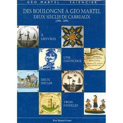 Des Boulongne à Géo Martel, deux siècles de carreaux, Desvres (1806-2003)