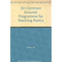 On Common Ground: Programme for Teaching Poetry