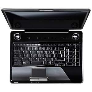 """Toshiba Satellite P300-27Z Ordinateur portable 17"""" Intel Core 2 Duo P7350 2.13 GHz Webcam 1,3 Mpix Wifi Ethernet + Modem RAM 4 Go HDD 640 Go"""