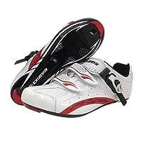 (White, Size 44) - EXUSTAR E-SR403 Road Shoe