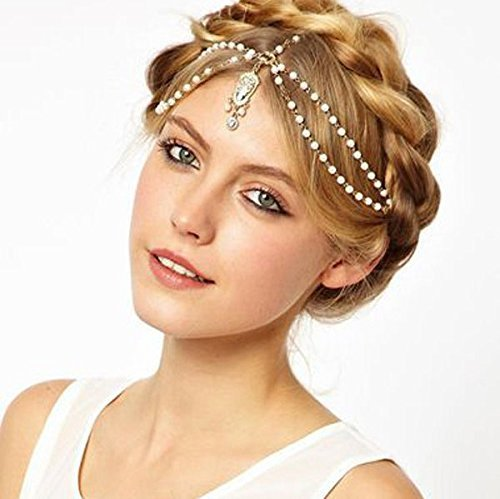 Aukmla Nero Bohemia Casual & Party & Evening Head Chain, Hair Accessories For Women