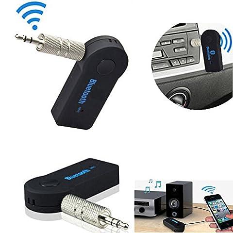 Universal-Bluetooth-Empfänger, 3,5mm, fürs Auto, kabelloser Audio-Empfänger mit Mikrofon, für iPhone, Samsung, Android-Handys
