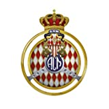 Automobile club Monaco logo autocollant plaque sticker Taille : 8 cm...