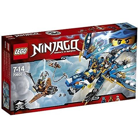 2016 NEW LEGO Ninjago 70602 Jay's Elemental Dragon - 350pcs Building Kit by LEGO