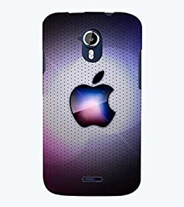 printtech Apple Design Back Case Cover for Micromax Canvas Magnus A117