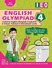 International English Olympiad - Class 4(With OMR Sheets): Essential Principles with Examples, Mcqs and Soluti