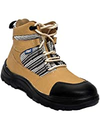Allen Cooper AC 9006 Nubuck Leather Safety Shoe Size 7 UK/India