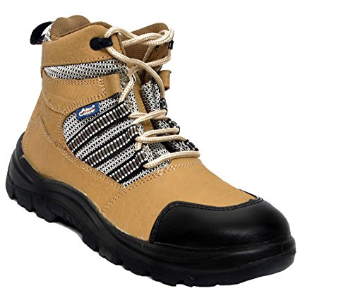 Allen Cooper Ac 9006 Nubuck Leather Safety Shoe Size 8 Uk/India