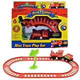 #7: Samdivi Mini Train Play Set for Kids - Multi Color