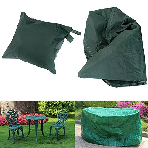 Yongse 95x140cm mobili da giardino esterna impermeabile e traspirante Shelter Tavola rotonda copertura antipolvere