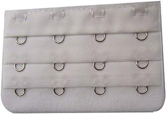 Voberry Women's s Soft Bra Extender Strap Extension 4 Hooks Bra Hooks Extender