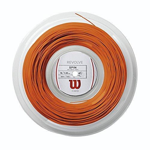 Wilson Tennissaiten Revolve 1.3 mm, Orange, 200 m, WRZ906200