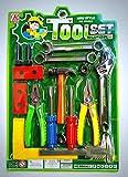 #5: Tickles Tool Set for Kids Repairing Kit (Random Color)