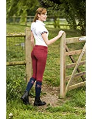 EQUI-THÈME Culotte Equitation - Pantalon Pro Coton