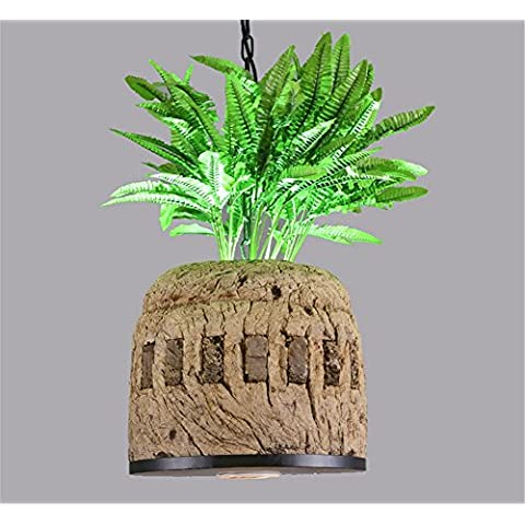 MEIWEI lámpara colgantelámpara del dormitorio de la lámpara pendiente de resina vegetal LED lámparas de iluminación