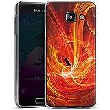 Samsung Galaxy A3 (2016) Housse Étui Protection Coque Braise Motif Motif
