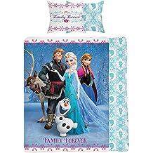 Disney Frozen familiar para siempre solo Panel Duvet Cover Bed Set