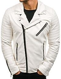 Suchergebnis auf für: Weisse Lederjacke 3XL