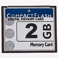 HuiErHui 2GB Digital Camera Memory Card 2GB CompactFlash Memory Card Free Packaging