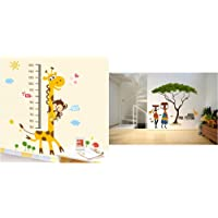 Decals Design StickersKart Wall Stickers Kids Giraffe Height Chart Removable Large Vinyl& 'Artistic Tribal Ladies with…