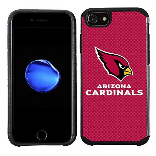 Prime Marken Gruppe Handy Fall für Apple iPhone 8/iPhone 7/iPhone/6S/iPhone 6-NFL Lizenzprodukt Arizona Cardinals Strukturierte Farbe
