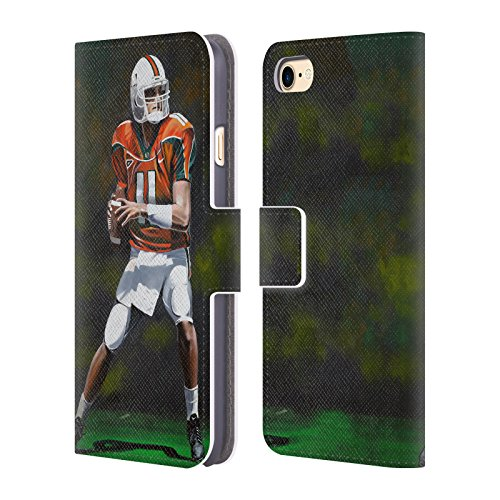 Ufficiale Geno Peoples Art In Alto Vita Cover a portafoglio in pelle per Apple iPhone 6 Plus / 6s Plus Miami