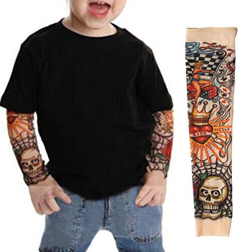 ezi-2-pcs-fake-nylon-kid-temporary-fake-tattoo-sleeves-arm-stockings-goth-punk-cool-child-7600522