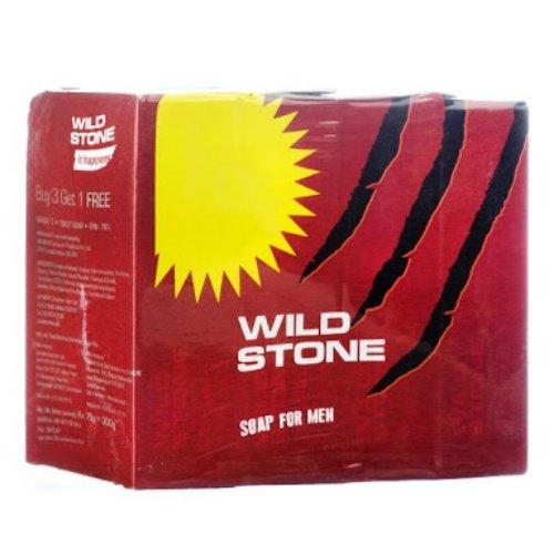 Wild Stone Deodorant Soap (75GM, Pack of 4)