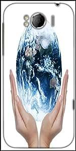 Snoogg Earth Globe Designer Protective Back Case Cover For HTC Sensation Xl