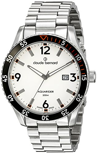 Claude Bernard Men's 53008 3NOM AO Aquaride Stainless Steel Watch