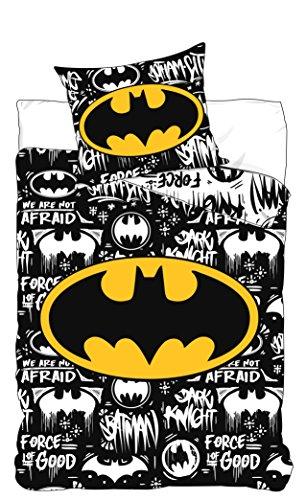 DC COMICS BATMAN Juego de cama Batman Logo DC Comics -...
