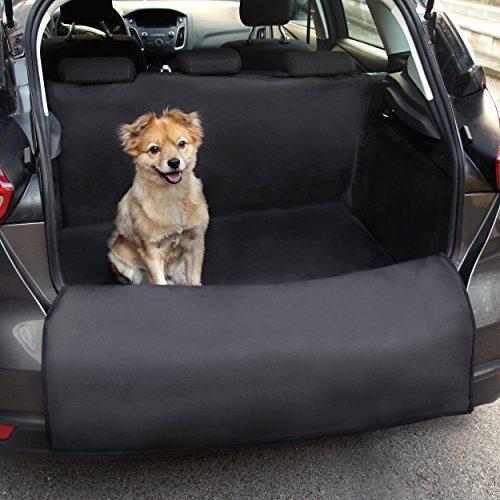 Universeller Kofferraumschutz von Heldenwerk ® - Ideal für Hunde - Kofferraumdecke mit Ladekantenschutz - Schneller Einbau (185 x 104 x 33) (Auto-hund-decke)