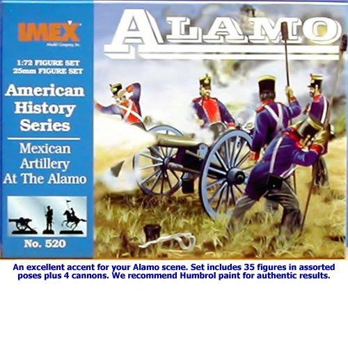 i-mex Imex IMEX520 - 1/72 Amerikanische Geschichte:Mexikanische Artillerie Alamo, Spiel