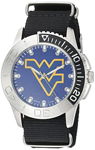 game-time-mens-starter-quartz-metal-and-nylon-automatic-watch-colorblack-model-col-sta-wvu