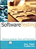 Software Testing: Effective Methods, Tools and Techniques