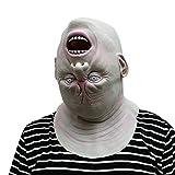 Mambain Halloween La Maschere,Maschera Mostro A Testa in Giù - Perfetta per Carnevale E Halloween - Costume Adulto - Latex, Unisex Taglia Unica