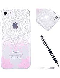 JAWSEU - Zapatillas de vela para hombre Henna Flower,Pink iPhone 7 4.7inch 2016