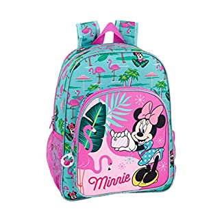 Minnie Mouse «Palms» Oficial Mochila Escolar Niños 330x140x420mm