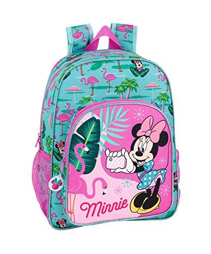 Minnie mouse palms ufficiale zaino scuola bambini 330 x 140 x 420 mm