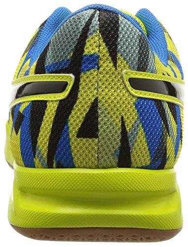 Puma  evoIMPACT 5, Chaussures indoor hommes Jaune (Sulphur Spring/Black/Cloisonn)