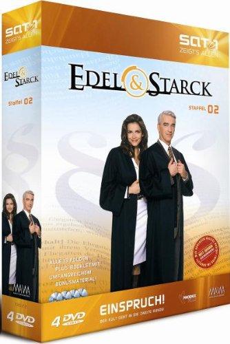Edel & Starck - Partner wider Willen (Staffel 02) [4 DVDs]