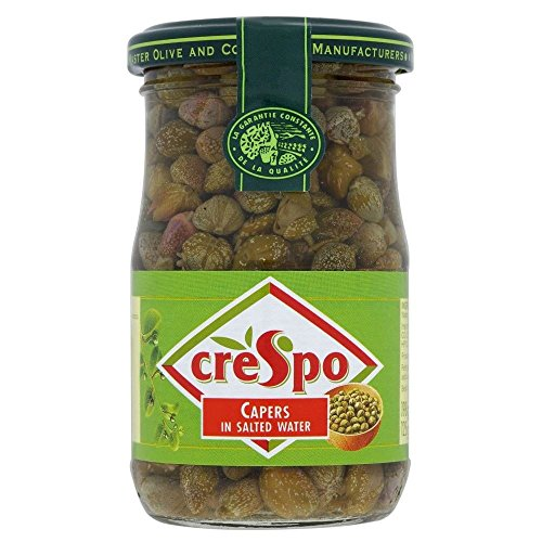 Crespo Capers à l'eau salée (198g) - Paquet de 6